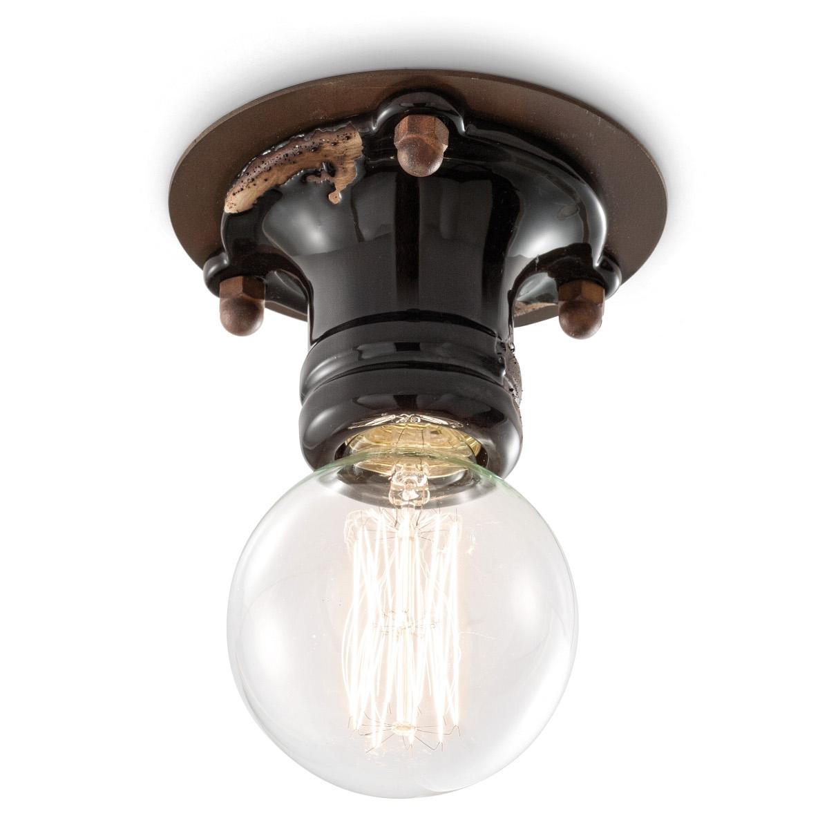 Plafonnier ampoule en ceramique colore 5 Luxe Plafonnier Ampoule Uqw1