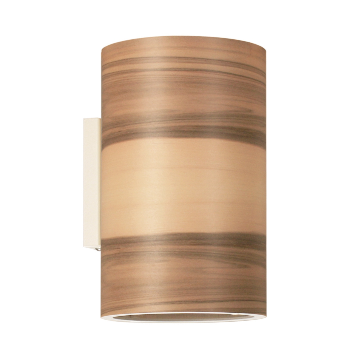 Bien-aimé Applique murale cylindrique avec abat-jour en bois XR35