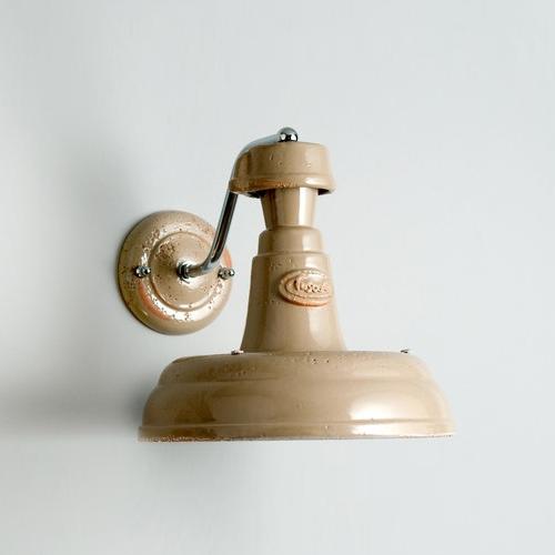 Applique murale en céramique au design vintage et industriel ...