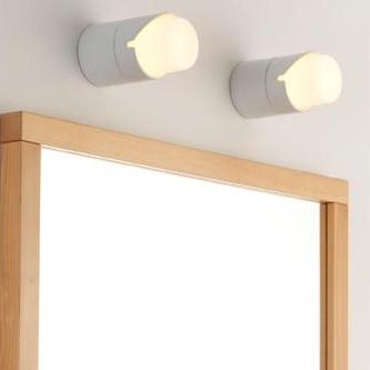 applique murale pour miroir lampe scandinave en c ramique. Black Bedroom Furniture Sets. Home Design Ideas