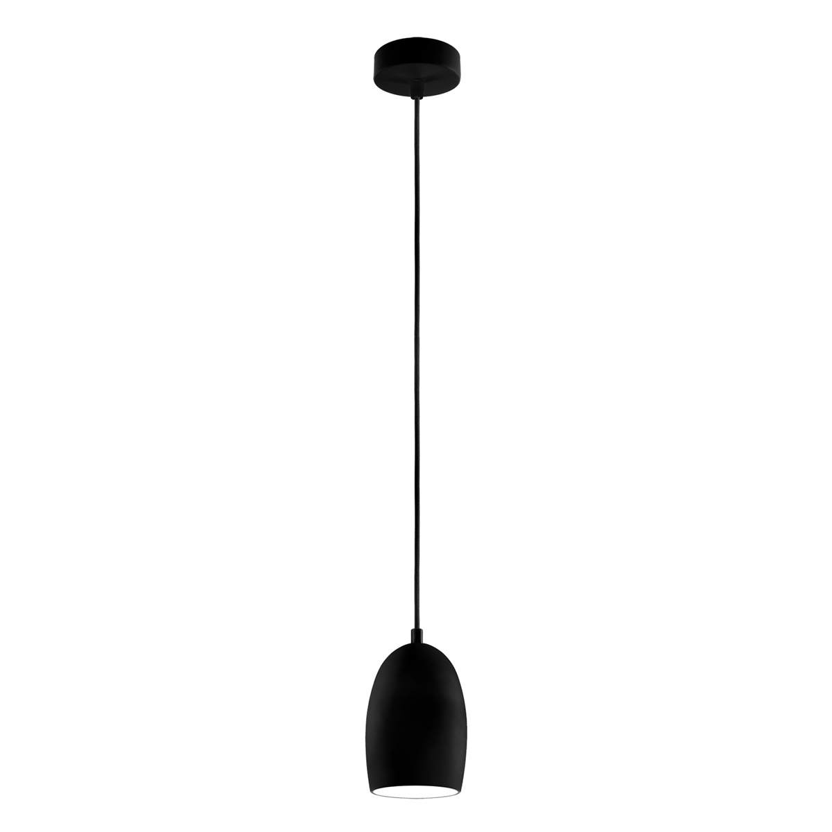 petite suspension cloche avec abat jour mat lampe modulable avec de nombreuses options. Black Bedroom Furniture Sets. Home Design Ideas