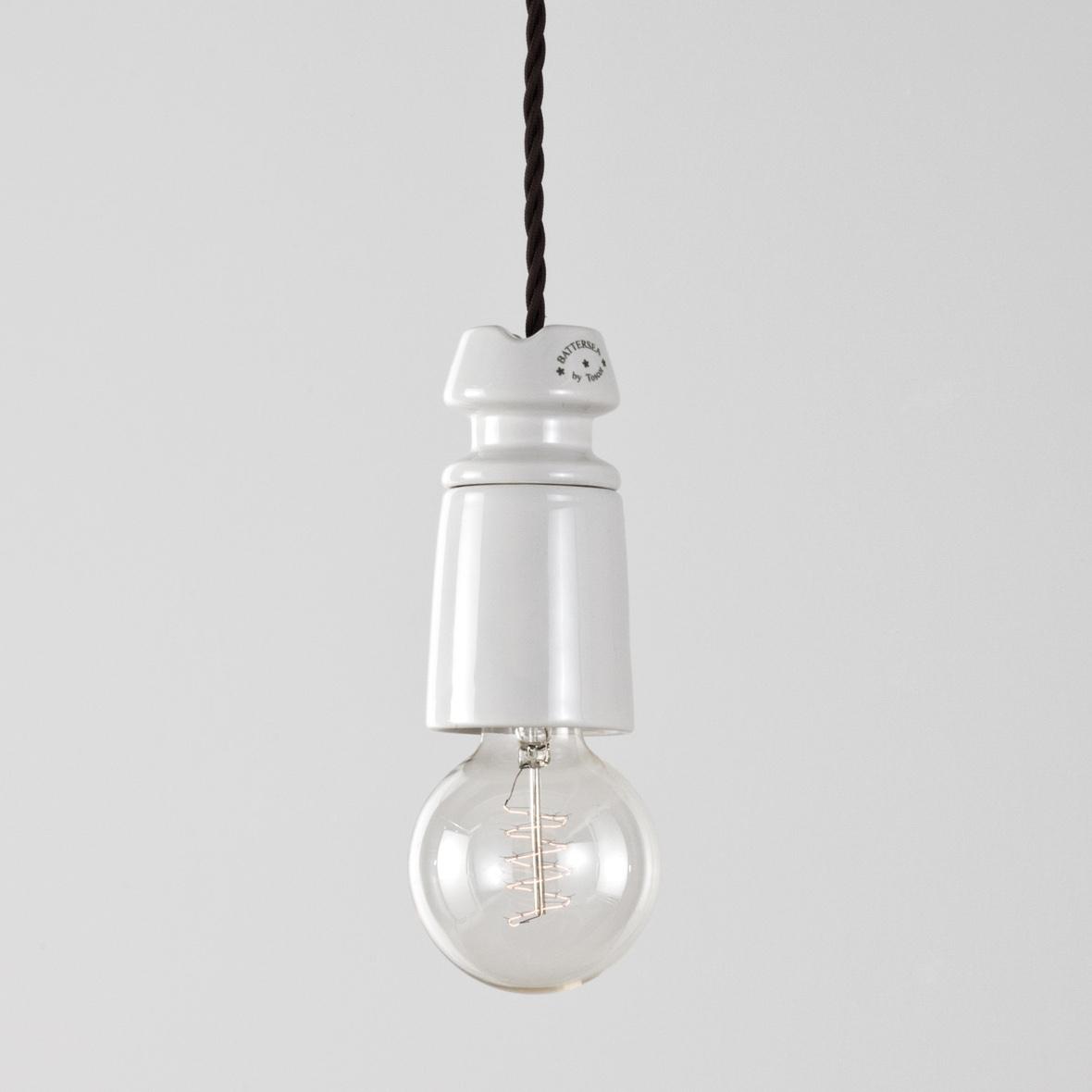 Suspension Ampoule Battersea En C Ramique Et De Style Industriel