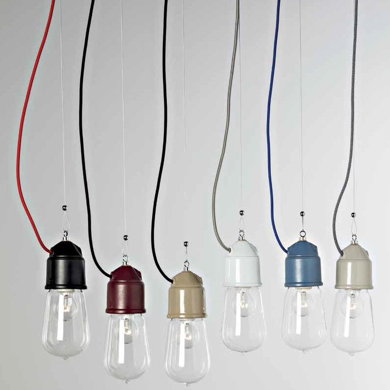 Suspension ampoule au design industriel en c ramique de nombreuses options disponibles - Suspension multiple ampoule ...