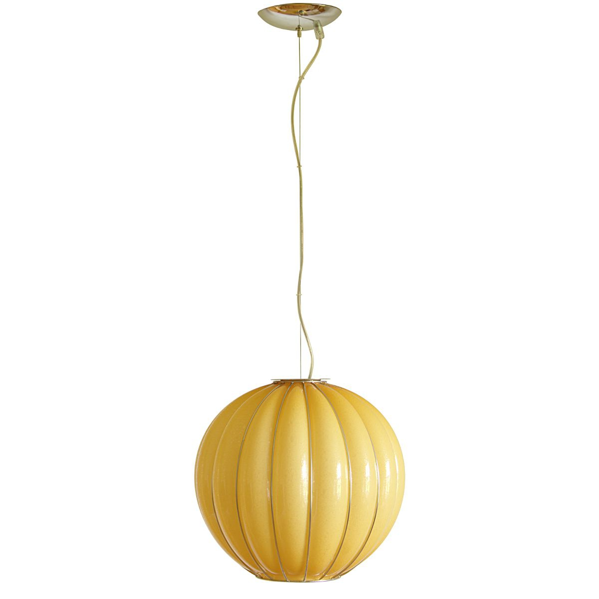 suspension boule r tro en verre souffl de murano. Black Bedroom Furniture Sets. Home Design Ideas