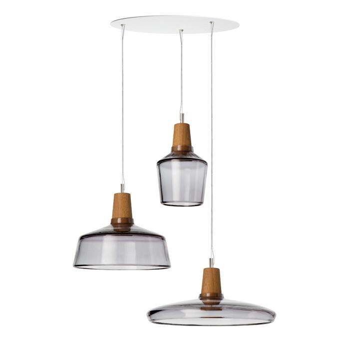 Suspension multiple au style industriel une lampe for Suspensions multiples