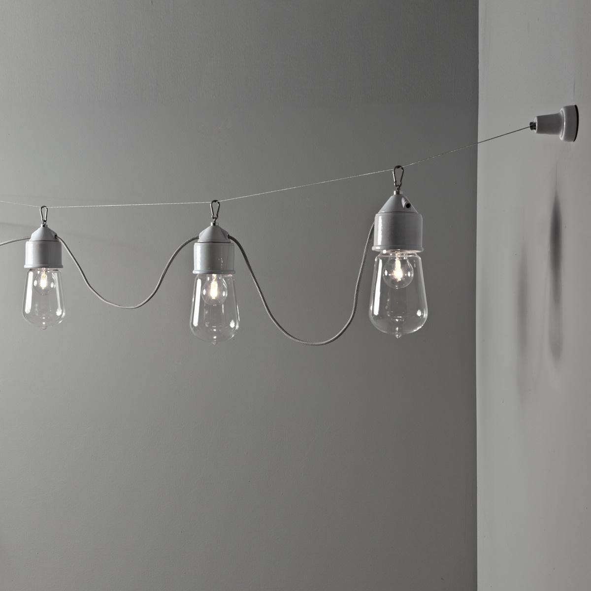 Suspension Multiple Ampoule Sur C Ble Lampe De Style Industrielle