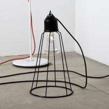 suspension ampoule multiple solitario de style industriel. Black Bedroom Furniture Sets. Home Design Ideas