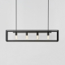 Suspension multiple minimaliste avec finition bronze antique noir