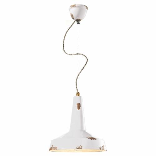 Suspension en couleur ambre