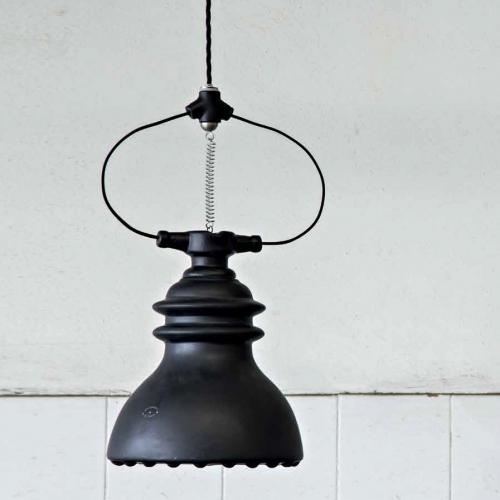 Suspension Battersea De Style Industriel R Alis E En C Ramique