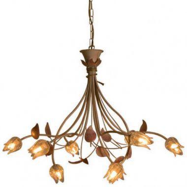 Vente en ligne de luminaire ancien de style art d co et for Lustre salle a manger rustique